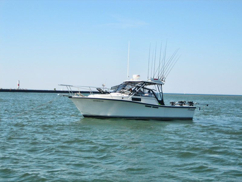Hookedup fishing charters rochester ny captain bruce for Fishing regulations ny